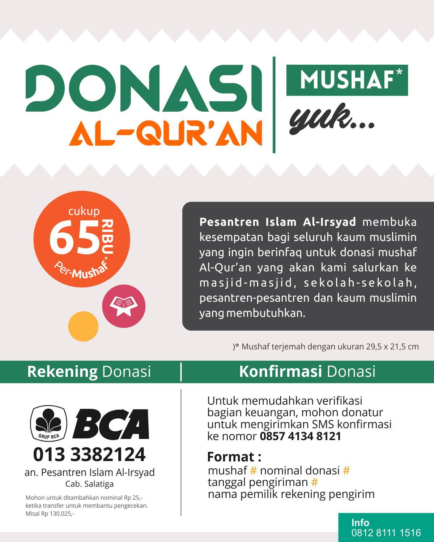 donasi-mushaf-pesantren-islam-al-irsyad