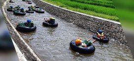 Jeda Penilaian Akhir Semester, SDITQ adakan River Tubing